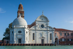 Igreja Venetian de San Michele em Isola, Veneza, Vêneto, Itália Fotografia de Stock Royalty Free