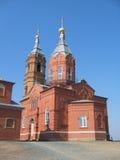 Igreja vermelha Imagens de Stock Royalty Free