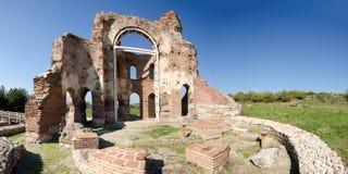 A igreja vermelha, Bulgária Imagens de Stock