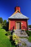 Igreja vermelha magnífica foto de stock royalty free