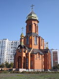 A igreja vitorioso de George Fotografia de Stock Royalty Free