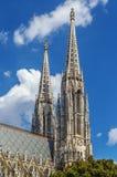 Igreja Votive, Viena fotografia de stock