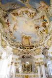 Igreja Wies do órgão Fotos de Stock Royalty Free