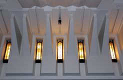 Igreja Windows Imagens de Stock