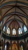 Igreja Windows em Myanmar Imagens de Stock Royalty Free