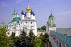 Igreja zachatyevsky do monastério yakovlevsky do salvador de Rostov Fotografia de Stock