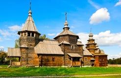 Igrejas de madeira Imagens de Stock Royalty Free