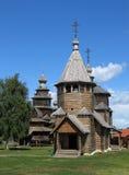 Igrejas de madeira em Suzdal. Fotos de Stock