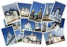 Igrejas russian ortodoxos Fotografia de Stock