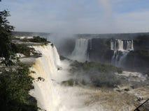 Iguaçu Fälle Stockbild