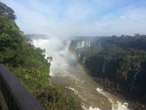 Iguaçu Fälle Lizenzfreies Stockbild