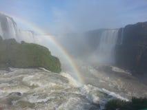 Iguaçu Fälle Lizenzfreie Stockbilder