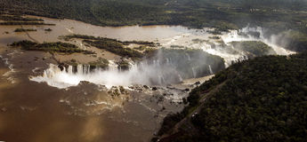 Iguassu Waterfalls Royalty Free Stock Images