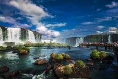 Iguacu秋天,巴西,南美 免版税图库摄影