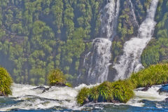 Iguacu Fälle Lizenzfreies Stockfoto