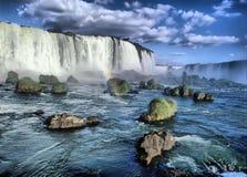 Iguacu falls Stock Image