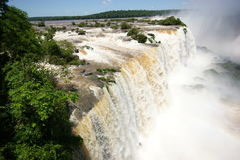 Iguacu falls Royalty Free Stock Photos