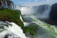 Iguacu falls Royalty Free Stock Photo