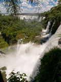 Iguacu Falls, Argentina. Iguacu falls viewed from Brazilian side Royalty Free Stock Photo