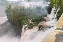 The Iguacu falls Stock Image
