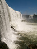Iguacu Falls, Brazil. Iguacu falls viewed from Brazilian side Royalty Free Stock Image