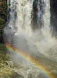 Iguacu Falls in Brazil Stock Image