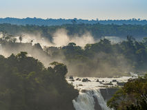 Iguacu Falls in Brazil Stock Photo