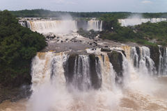 The Iguacu falls Stock Images