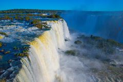 Iguacu falls Royalty Free Stock Photography