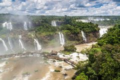 Iguacu Iguazu Falls arkivfoton