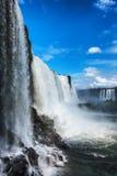 Iguacu spadki, Brazylia, Ameryka Południowa Obrazy Stock