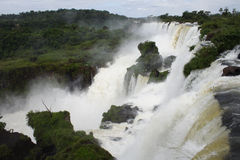 Iguacu waterfall Royalty Free Stock Photo