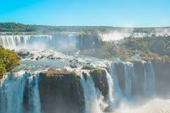 Iguacu Waterfalls Stock Image