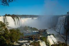 Iguacu Waterfalls Royalty Free Stock Photography