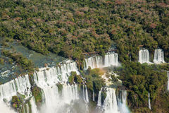 Iguacu Waterfalls Stock Photo