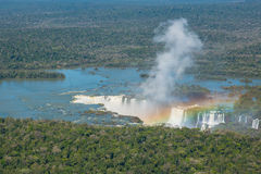 Iguacu Waterfalls Royalty Free Stock Images