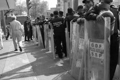 2014年Iguala大量绑架 库存照片