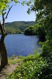 Igualación de calma en el La Quintana del lago fotos de archivo