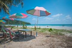 Igualación de la atmósfera de la playa fotos de archivo