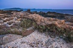 Igualación de la atmósfera de la playa foto de archivo