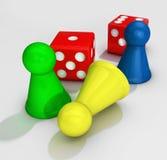 Igualación de los juegos Ilustración del Vector
