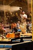 Igualación de rezos hindúes en Varanasi, la India Fotografía de archivo libre de regalías
