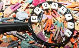 Igualdad Imágenes de archivo libres de regalías