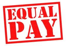 Igualdad de salario Fotografía de archivo