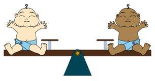 Igualdad total ilustración del vector