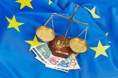 Igualdade em Europa fotografia de stock royalty free