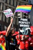 Igualdade nacional março no Washington DC Foto de Stock