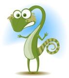 Iguana ridicola illustrazione di stock