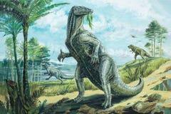 Iguanodon Fotografía de archivo