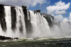 iguassu瀑布 免版税库存图片